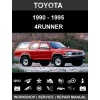 1990 - 1995 Toyota 4Runner Repair & Wiring Manual