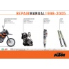 1998 - 2005 KTM 400 - 660 LC4 Factory Service Manual