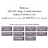 2002 - 2003 WG Grand Cherokee Service Manual