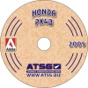 Honda Civic 3 Shaft PX4B Transmission Repair Manual ATSG