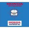 Honda B75 Twin B75K1 Outboard Engine Repair & Service Manual