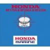 Honda BF175A & BF200A & BF225A Outboard Engine Repair Manual