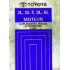 Totoya 2L 2LT 3L 5L Engine Manual (French)