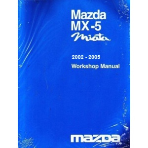 2002 - 2005 Mazda MX5 Miata Factory Service Manual