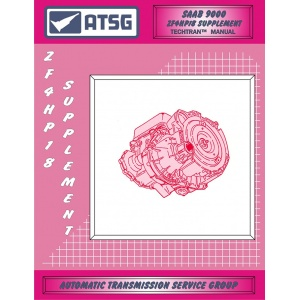 Saab ZF 4HP-18 Supplement Transmission Repair Manual ATSG